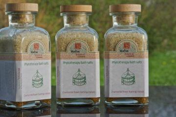 """Фитотерапия: кристаллы для ванны """"Пырей""""(Пшеница)  550гр"""