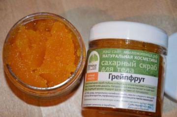 Сахарный скраб для тела Грейпфрут. 150 мл