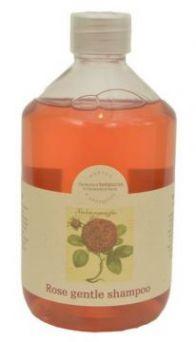 Натуральный шампунь с Розой без СЛС, 500 мл